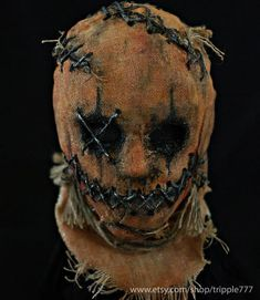 Custom Scarecrow Evil Demon BB Gun Airsoft Mask, Halloween Costume Devil Horror Cosplay Home Decor - Real Time - Diet, Exercise, Fitness, Finance You for Healthy articles ideas Scarecrow Mask, Halloween Costumes Scarecrow, Amazing Halloween Costumes, Scary Halloween Masks, Halloween Makeup, Horror Halloween Costumes, Horror Costume, Kid Costumes, Halloween Zombie