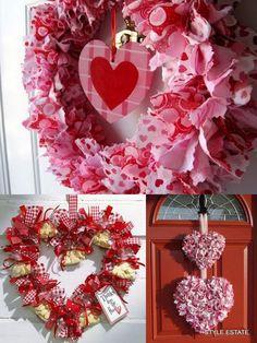 More Valentine WreathIdeas - Style Estate -