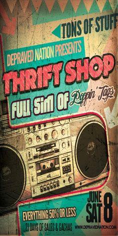 Mode à tout prix: #315 The Thrift Shop