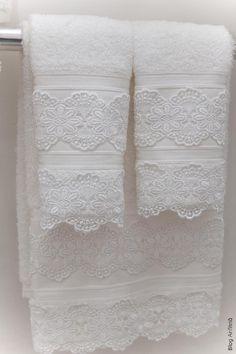 toalhas de lavabo   Anfitriã como receber em casa, receber, decoração, festas, decoração de sala, mesas decoradas, enxoval, nosso filhos