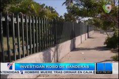 PN Investiga El Robo De 21 Banderas #Video
