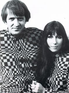 Salvatore Bono ( Sonny ) met Cherilyn Sarkisian ( Cher ) at an LA coffee shop in when she was 16 and he, a record producer, was T. I Got You Babe, You Got This, Mon Cheri, Cher Bono, Thats The Way, Record Producer, Matching Outfits, Kanye West, Gq