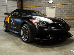 Infinit Q60 satin black wrap using 3M 1080. 12-Point SignWorks