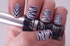 Polish Art Addict: Zebra