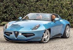 2016 Alfa Romeo Disco Volante Spyder Carrozzeria Touring