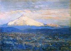 Mount Hood - Childe Hassam