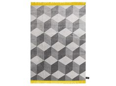 Rectangular #rug with #geometric shapes INFINI #Contemporary Collection by cc-tapis ® #design