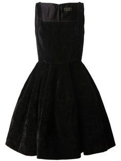 Lanvin structured velvet dress #lanvin