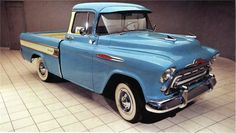 「1957 chevy cameo pickup」の画像検索結果