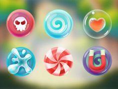 Candy in Candymeleon iOS Game by Sittitsak jiampotjaman