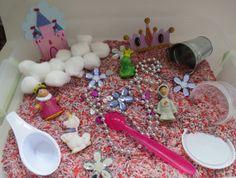 SALE Princess Sensory Box/Bin SALE by ChildsPlayCreations on Etsy, $13.00