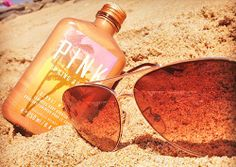 VS Pink Bronzer and Suntan Lotion, I miss the summer, and I miss the beach!