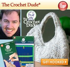 The Crochet Dude Collection  Would love to make this purse on the front...  #thecrochetdude