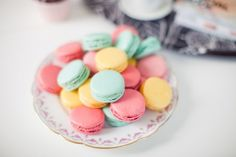 1000+ images about Pastel color macarons on Pinterest   Macaroons ...