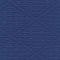 Box Marine Navy from the Cushion/Furniture/Drapery Fabrics Outdoor Matelasse collection.