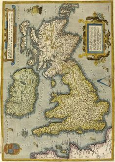 Fig. 11—Angliae, Scotiae et Hiberniae, 1570
