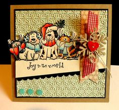 SC458 Joy to the World by DJRants - Cards and Paper Crafts at Splitcoaststampers