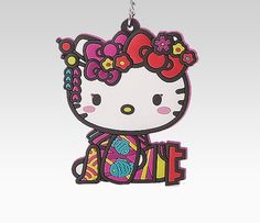 hello kitty NuGeisha version key ring
