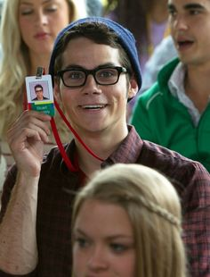 Dylan O'Brien, The Internship!!! This was me at my first day at work!!!