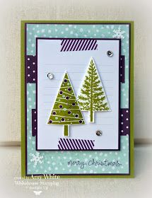 Stampin up Whitehouse Stamping Amy White Festival of Trees