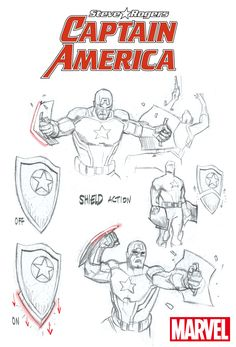 Looking at CAPTAIN AMERICA: STEVE ROGERS' New Costume & Shield | Newsarama.com