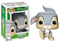 Funko POP Disney: Bambi Thumper Action Figure for sale online Funk Pop, Disney Pop, Bambi Disney, Disney Pixar, Funko Figures, Vinyl Figures, Funko Pop Dolls, Funko Toys, Bambi And Thumper