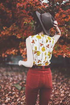 Autumnal Endings | finchandfawn.com #autumn #fall #outfit