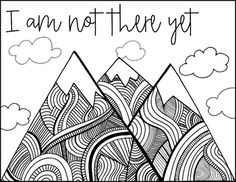 Growth Mindset Coloring Pages Growth mindset posters