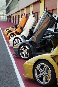 #Lamborghini #Murciélago set