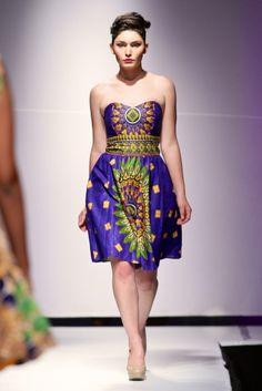Goddess ~  Zimbabwe Fashion Week 2013