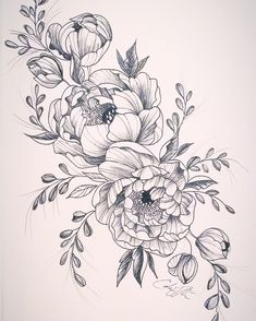 Fun, creative, rebellious, many people love getting tattoos and use them as a platform for self-expression. Tattoos can be satisfying both physically while looking at them and mentally when you con… Floral Tattoo Design, Mandala Tattoo Design, Flower Tattoo Designs, Flower Tattoo Drawings, Unique Tattoos, Beautiful Tattoos, Cool Tattoos, Tatoos, Black Tattoos