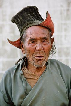 Man photographed in Ladakh |  Kashmir, India.  by Rudi Roels, via Flickr