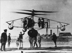 PKZ the first hungarian helicopter. Powered by three 90kW airplane engines, this captive observation helicopter was the creation of Stefan Petroczy, a lieutenant in the Austrian-Hungarian Army during World War I. 1918