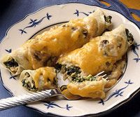 Chicken Spinach Crepes