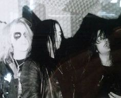 Dead, Euronymous, and Necrobutcher (Mayhem)