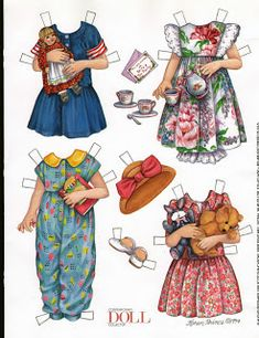 inkspired musings: Easter Egg Fun, paper dolls and safety pin pins