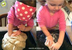 Cozinha com crianças - como fazer uma tartaruga de chia e aveia