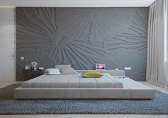 Bedroom in Novopecherskie Lipki, Kiev, Ukraine. By architectural studio archiplastica.#interior #archiplastica #kiev #design #architecture http://archiplastica.com/projects/interior/2_3.html  https://www.behance.net/gallery/30169019/23-APARTMENT