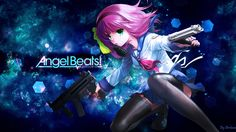 Anime Angel Beats!  Yuri Nakamura Fondo de Pantalla Anime Angel Beats, Yuri, Angle Beats, Manga Anime, Anime Art, Free Angel, Sad Stories, Tsundere, Girls Characters