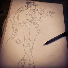 Sailor Moon Warriors on Behance