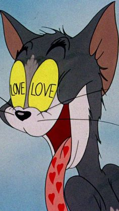 Vintage Wallpaper Iphone Tom And Jerry Cartoon Memes, Cartoon Pics, Tumblr Cartoon, Funny Cartoons, Tom Cartoon, Cartoon Ideas, Happy Cartoon, Funny Cats, Aesthetic Iphone Wallpaper