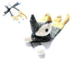 Calico Cat Ragdoll crochet amigurumi pattern PDF door AlaSascha