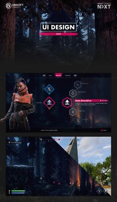 Ubisoft Toronto NEXT 2019 - Game UI Design