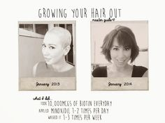 Growing Your Hair Out After Chemo with PICTURES | Dena Julia