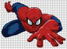 Marvel's Spider-Man (Chart/Graph AND Row-by-Row Written Crochet ...