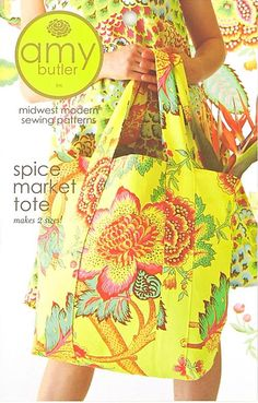 Spice Market Tote Sewing Pattern