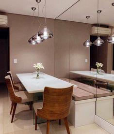 Dining room – Home Decor Designs Kitchen Design, Kitchen Decor, Dinner Room, Dining Table Design, Open Plan Kitchen, Dining Furniture, Furniture Design, Sweet Home, Room Decor