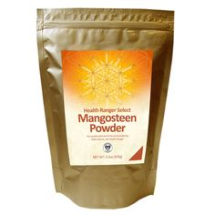Mangosteen Powder (RAW), Ultra Premium Potency - Health Ranger Select (100 gram)