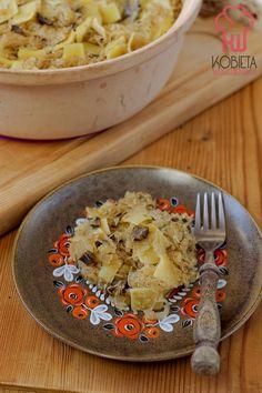 Łazanki z kiszoną kapustą i grzybami Hummus, Ethnic Recipes, Blog, Blogging