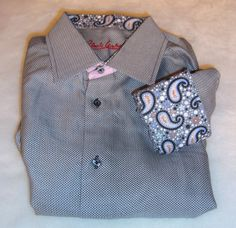 New Robert Graham Sz S 15 Men's Knowledge Wisdom Truth Paisley Cuffs Dress Shirt #RobertGraham